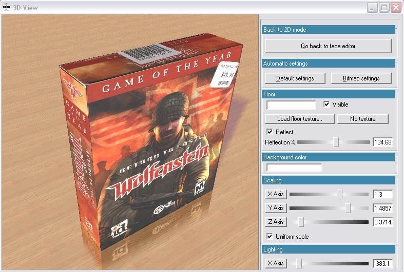3D Virtual Cover Creator